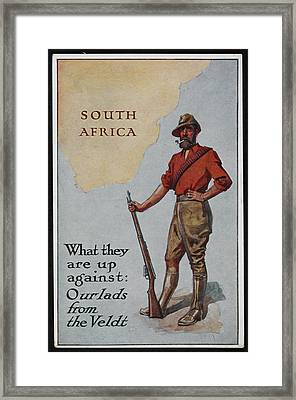 Postcard Circa 1905 - 1918 Framed Print by British Library