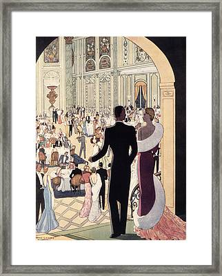 Poster Advertising The Rex Framed Print by Italian School