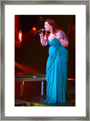 Posterized Mary Lambert Framed Print by Lesley DeHaan