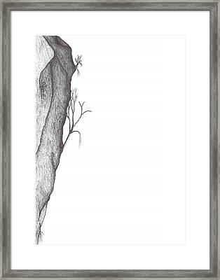 Potentially Climbable Framed Print by Giuseppe Epifani