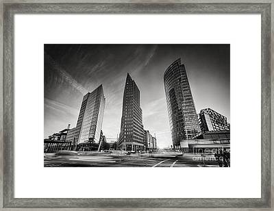 Potsdamer Platz 1 Framed Print by Rod McLean