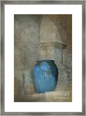 Pottery And Archways II Framed Print by Sandra Bronstein