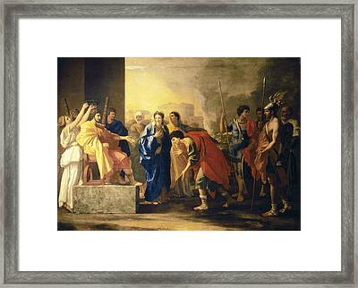 Poussin, Nicolas 1594-1665. The Noble Framed Print by Everett