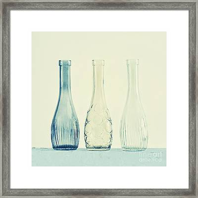 Powder Blue Framed Print by Priska Wettstein