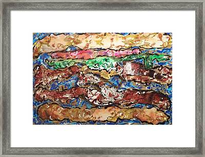 Power Double Cheeseburger  Framed Print by Kevin OBrien