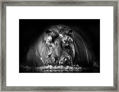 Power Framed Print by Gorazd Golob