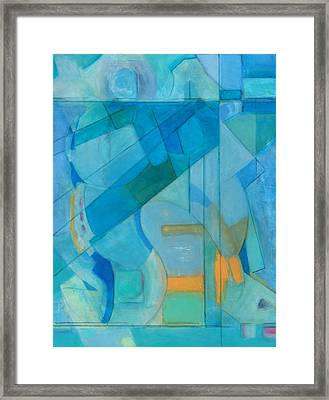 Power Grid Remastered Framed Print by Danielle Nelisse