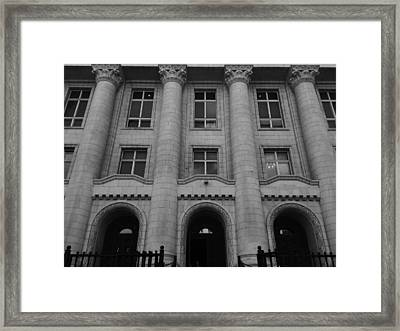 Power Framed Print by Lucy D