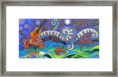 Power Of Music II  Framed Print by Genevieve Esson
