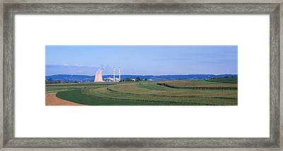 Power Plant Energy Framed Print by Panoramic Images