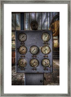 Power Point Framed Print by Nathan Wright