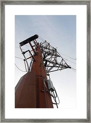 Power Up Framed Print by Minnie Lippiatt