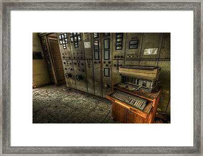Power Writer  Framed Print by Nathan Wright