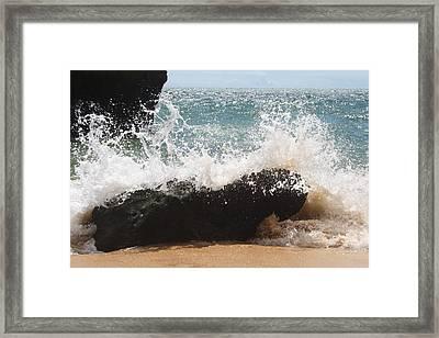 Praia Da Caneiros Framed Print by Ash Sharesomephotos