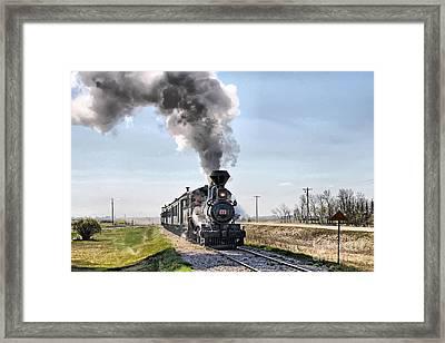 Prairie Dog Central Framed Print by Vickie Emms