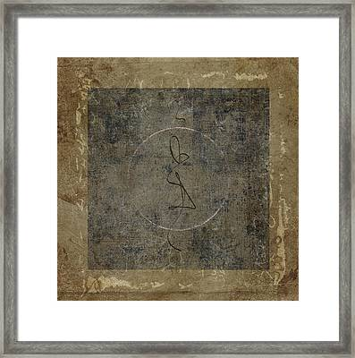 Prayer Flag 201 Framed Print by Carol Leigh