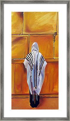 Prayer II Framed Print by Dawnstarstudios