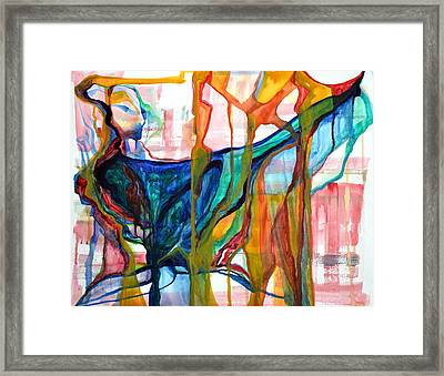 Precious Creation Of Nature Oh What Did Nurture Do Framed Print by Vivianne Maloney