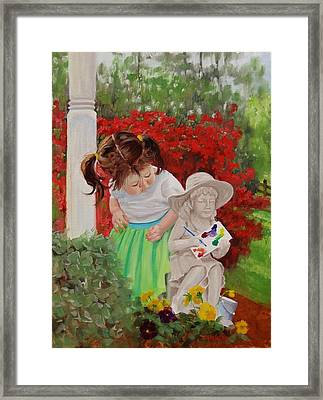 Precious Memories Two Framed Print by Laura Lee Zanghetti