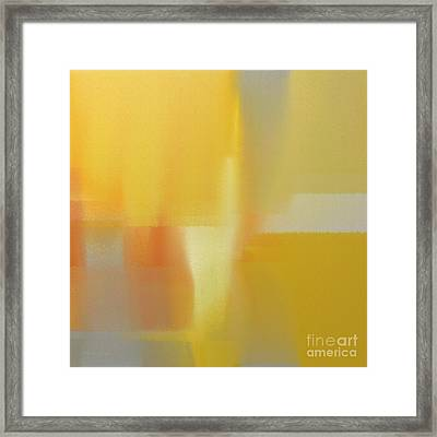 Precious Metals Abstract 3 Framed Print by Andee Design