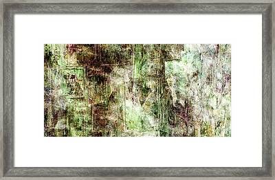 Precipice - Abstract Art Framed Print by Jaison Cianelli