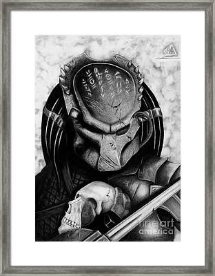 Predator Framed Print by Christopher Spring