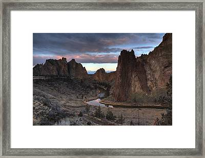 Predawn Pastel Framed Print by Coby Cooper