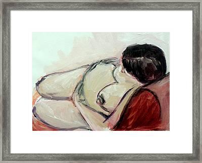 Pregnant01 Framed Print by Tali Farchi