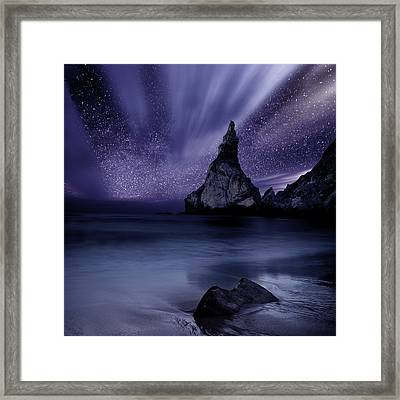 Prelude To Divinity Framed Print by Jorge Maia