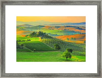 Prelude To Summer Framed Print by Midori Chan