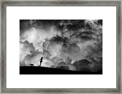 Prelude To The Dream Framed Print by Hengki Lee