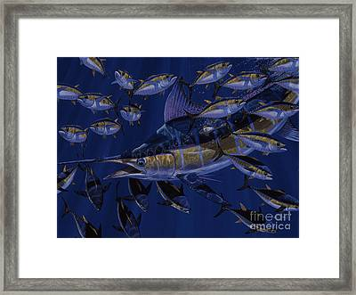 Premonition Off0063 Framed Print by Carey Chen