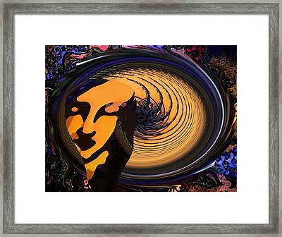 Preoccupied Framed Print by Bruce Iorio