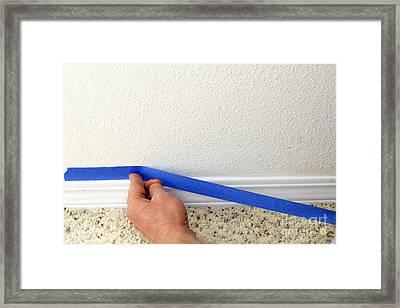 Preparing To Paint Framed Print by Lee Serenethos