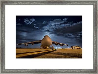 Prepped For Flight Framed Print by Mountain Dreams