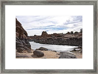 Prescott Arizona Winter Dells Iv Framed Print by Lee Craig