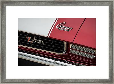 Prescription Z Framed Print by Douglas Pittman