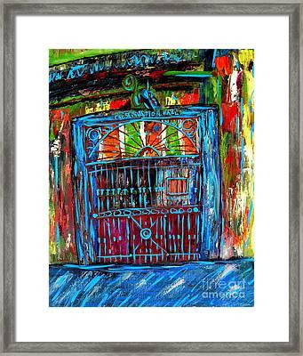 Preservation Hall Framed Print by JoAnn Wheeler