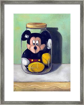 Preserving Childhood 4 Framed Print by Leah Saulnier The Painting Maniac