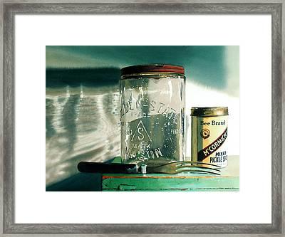 Preserving Framed Print by Denny Bond