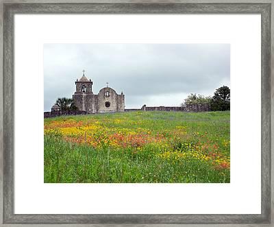 Presidio La Bahia Photo Framed Print by Sue Kemp