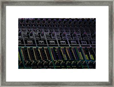 Presonus Framed Print by Travis Crockart