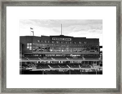 Press Box Framed Print by Jonathan Harper