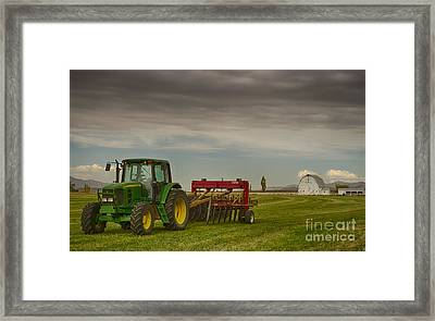 Preston Farm Framed Print by Idaho Scenic Images Linda Lantzy