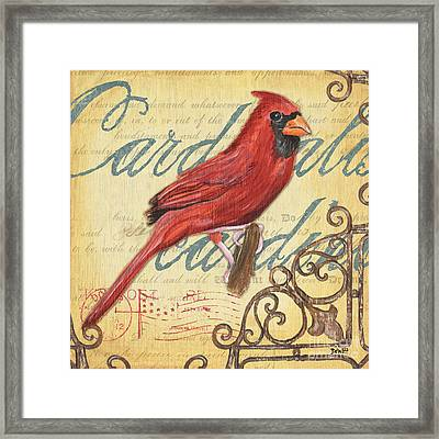 Pretty Bird 1 Framed Print by Debbie DeWitt