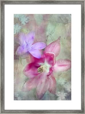Pretty Flowers Framed Print by Annie Snel