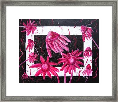 Pretty In Pink 2 Framed Print by Marita McVeigh
