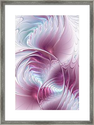 Pretty In Pink Framed Print by Anastasiya Malakhova