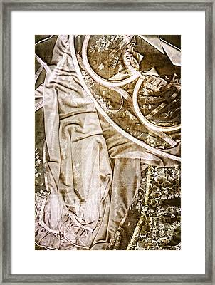 Pretty Things 4 - Lingerie Art By Sharon Cummings Framed Print by Sharon Cummings