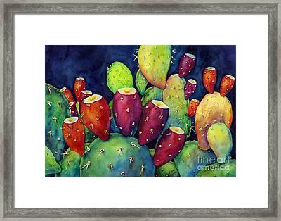 Prickly Pear Framed Print by Hailey E Herrera
